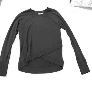 Athleta black sweatshirt, XS